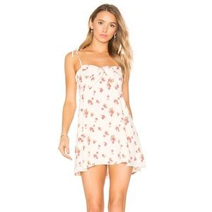 For Love & Lemons Cherry Print Dress